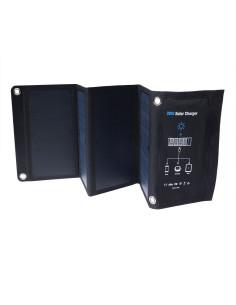 Panel Solar Plegable 28W Carga Rápida - Plegado