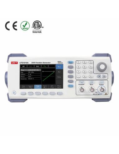 Generador de funciones utg1010a - vista frontal