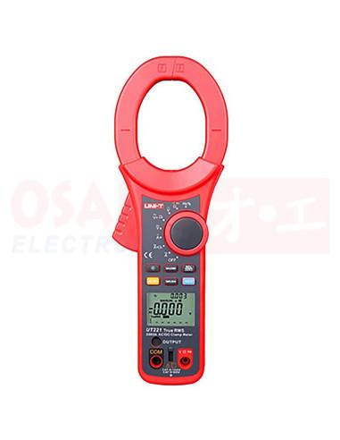 Pinza Amperimétrica Digital AC/DC 2000A UT221 - Vista principal