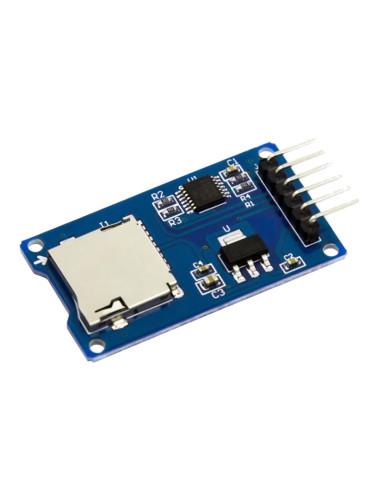 Módulo de Lectura Micro SD - vista principal