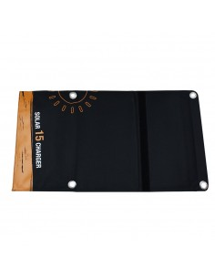 Panel Solar Plegable 15W - Vista externa