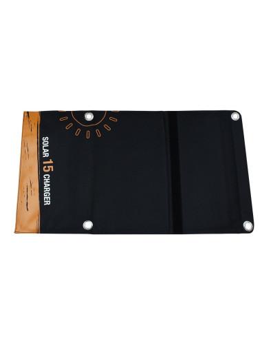 Panel Solar Plegable 15W - Vista externa