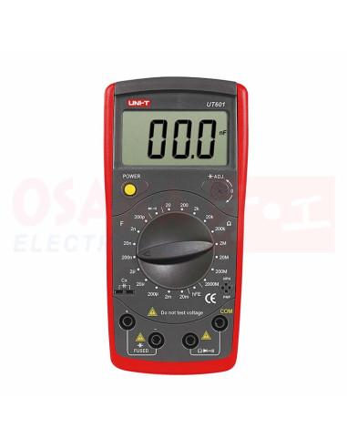 Capacimetro medidor Inductancia UT601 - vista principal