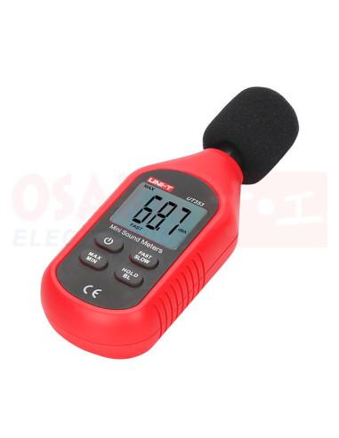 Mini Decibelímetro sonómetro UT353 - vista principal