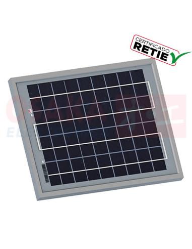 Panel Solar Policristalino 10W SF-6P10 - vista principal