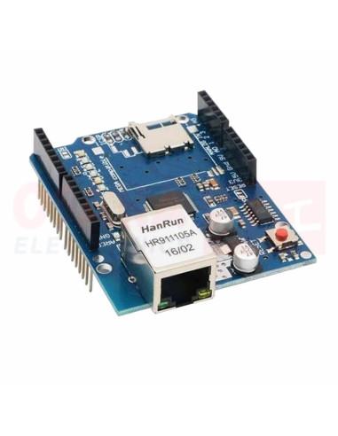 Modulo shield Ethernet W5100 Arduino - vista principal