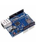 Modulo shield Ethernet W5100 Arduino - vista superior