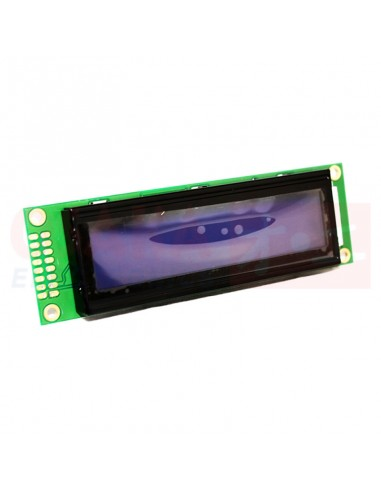 Display LCD alfanumérico 20x2 Backlight Azul - vista principal