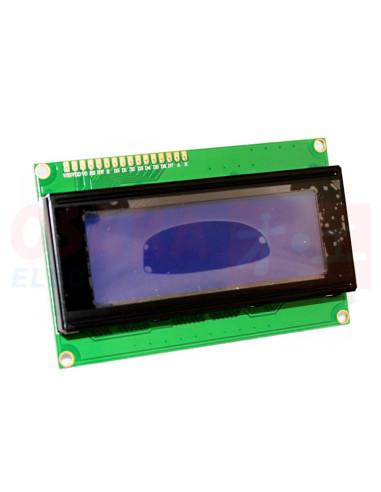 Display LCD alfanumérico 20x4 Backlight Azul - vista principal