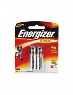 Pila Alkalina Energizer AA