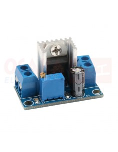 Modulo regulador voltaje LM317T - vista principal