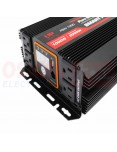 Inversor de Voltaje Onda Seno 12V 1000W - vista tomas