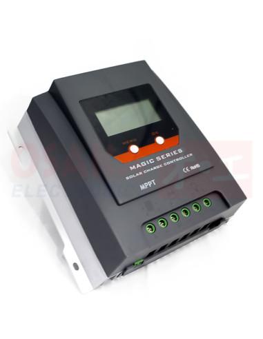 Regulador Controlador Solar MPPT 12V 24V 30A - vista principal