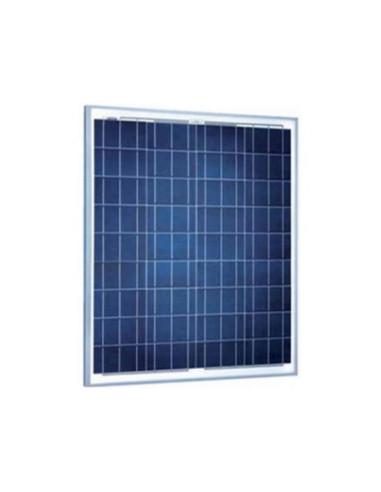 Panel Solar Policristalino 55W - Vista Frontal