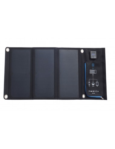 Panel Solar Plegable 21W - Vista Frontal