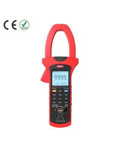 Pinza Amperimétrica Digital Potencia Activa UT233 Imagen Frontal