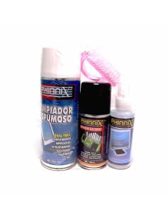 Imagen de Kit limpiador mantenimiento 3 piezas PHINNIX