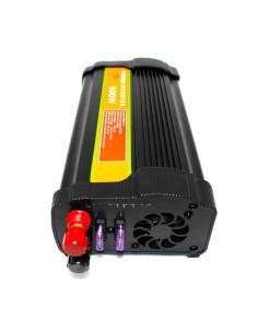Imagen de Inversor de Voltaje 12V 600W Univeral Power - detalle conectores de entrada