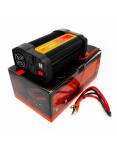 Imagen de Inversor de Voltaje 12V 800W Universal Power con cables y empaque