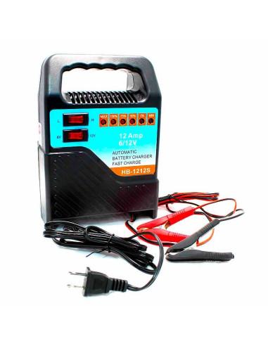 Imagen Cargador para batería de carro y moto 12A Universal Power