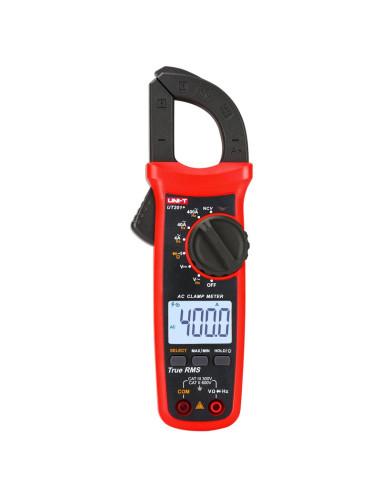 Pinza Amperimétrica AC 400A UT201+ - Vista frontal