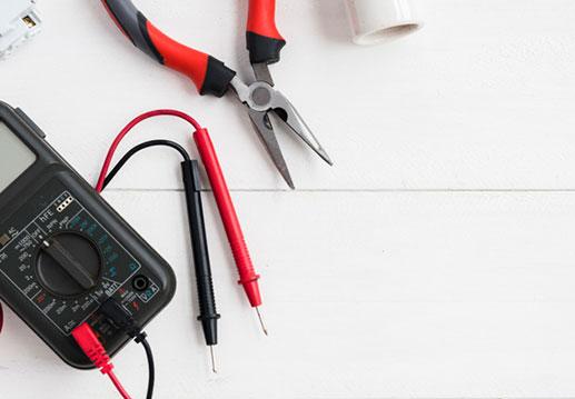 Imagen de multimetro, pinzas para medicion de corriente electrica